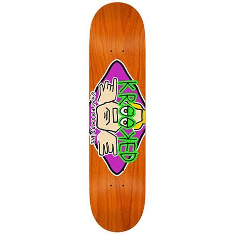 krooked deck krooked arketype skateboard deck evo