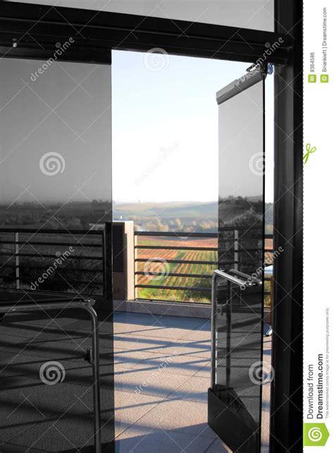 Open Glass Door Open Glass Door Royalty Free Stock Image Image 8364586