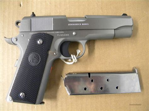 1991 colt government 45acp stainless colt 1991 series stainless commander 45acp for sale