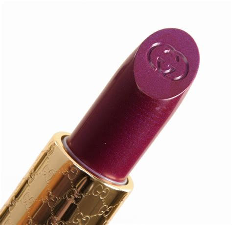 Lipstik Gucci gucci bitter grape fever audacious color lipsticks reviews photos swatches
