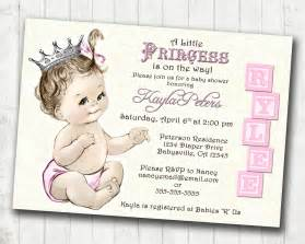Princess Baby Shower Invitation Templates Free by Princess Baby Shower Invitation Templates Free