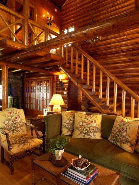 log cabin interiors home design ideas pictures remodel