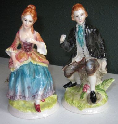 george and martha washington porcelain ls norcrest porcelain martha george washington colonial