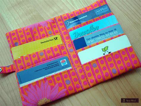 card holder pattern sewing credit card holder inside sew mad flickr