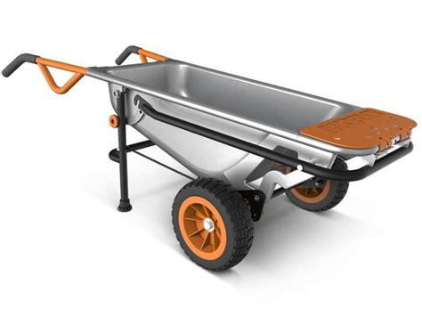 best wheelbarrow worx aerocart review is it really the best wheelbarrow