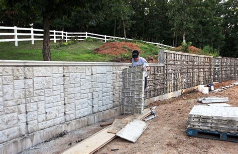 Concrete Forms Ashlar Stone Decorative Concrete Wall Forms