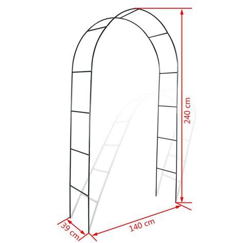 arco jardin arco de jardin para plantas trepadoras 2 unidades vidaxl es