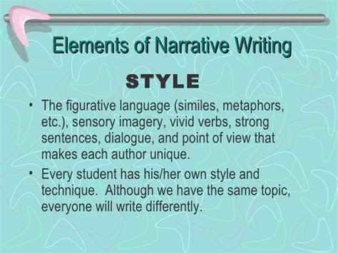 the elements of style 4th edition books narrative writing