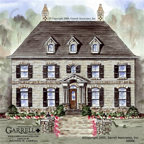french colonial house plans cambridge manor house plan house plans by garrell