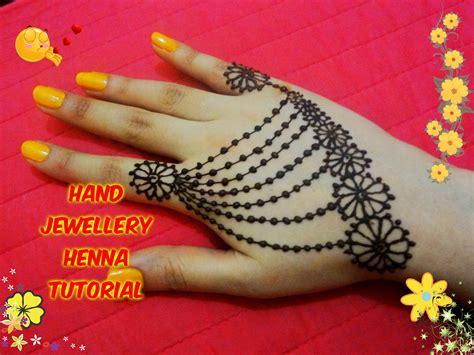 simple henna design youtube how to apply beautiful jewellery ornamental henna mehndi