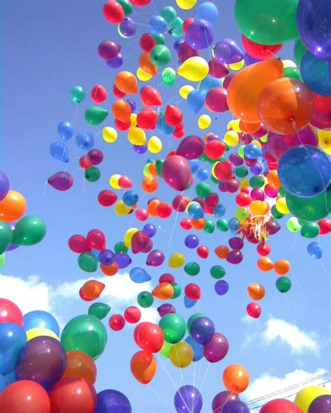 colorful balloons colorful balloons to make you happy teddybear64 photo
