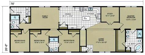 the cypress ranch style modular home floor plan ranch style modular home