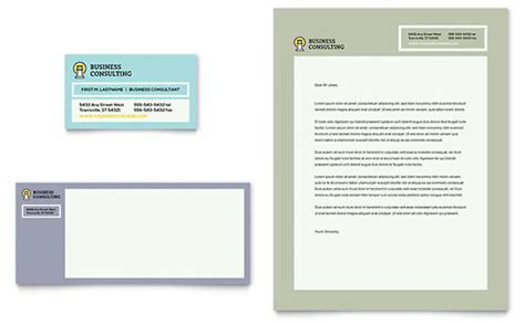 business consultancy letterhead template letterhead templates indesign illustrator publisher word