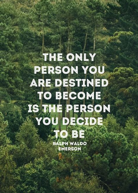become the person you want to be fforward