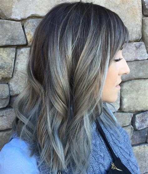 silver brown hair 20 shades of the grey hair trend
