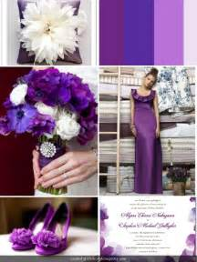 wedding theme colors a powerful purple wedding theme wedding colors