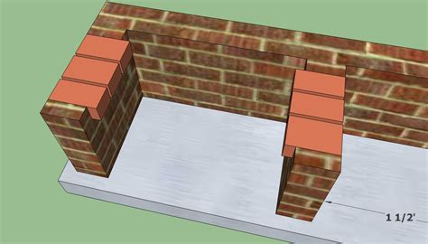 how to build a backyard bbq pit how to build a brick shed step by step