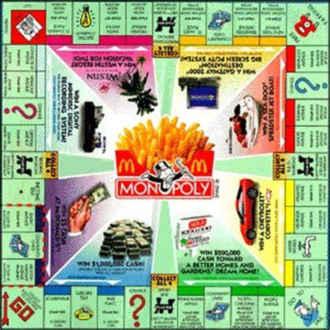 Mcdonalds Monopoly Sweepstakes - mcdonald s monopoly monopoly wiki fandom powered by wikia