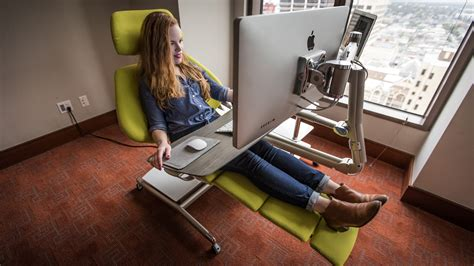 Lie Back Relax And Get To Work With The Altwork Crazy Lay Computer Desk
