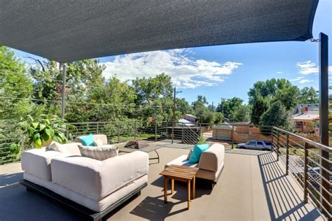 Designer Bathroom Alcott Garage Rooftop Interior Designer Denver Co