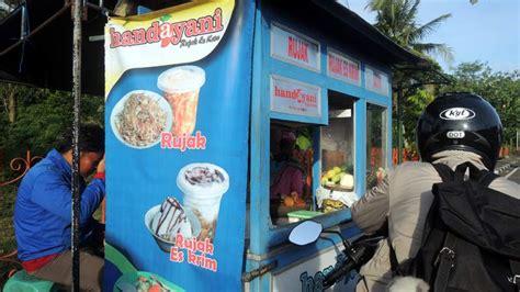 desain gerobak rujak es krim belajar wirausaha dari nuryanto penjual handayani rujak