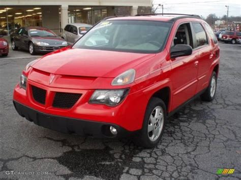 pontiac aztek red 2002 bright red pontiac aztek 18032597 photo 8