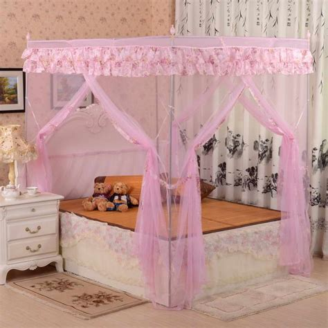 canopy bed curtains pics photos twin metal canopy bed pink with curtains