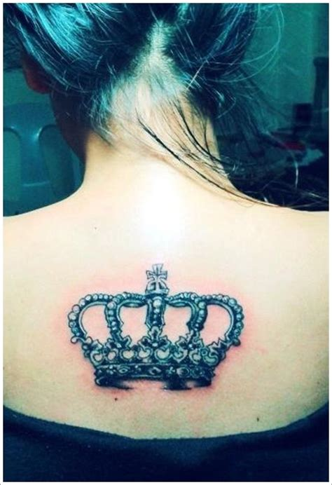 s full back crown tattoo