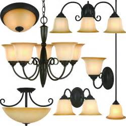 Chandeliers Light Fixtures Rubbed Bronze Bathroom Vanity Ceiling Lights Chandelier Lighting Fixtures Ebay
