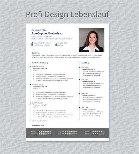 Design Vorlage Word Kostenlos Profi Lebenslauf Vorlage Quot Maximilian Quot Erfolgreich Bewerben
