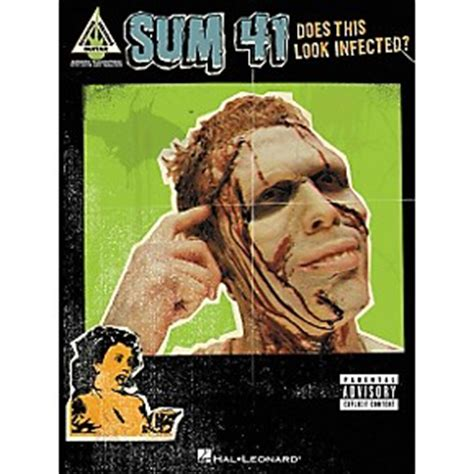 hal leonard sum 41 does this look infected guitar tab