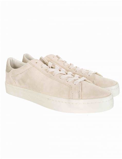 adidas originals court vantage shoes clear brownchalk