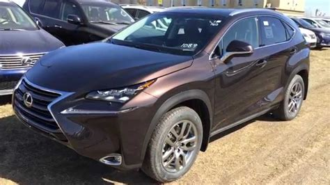 tan lexus new brown on saddle tan 2015 lexus nx 200t awd luxury