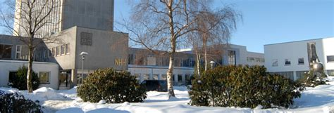 Nhh School Of Economics Mba by School Of Economics Cems