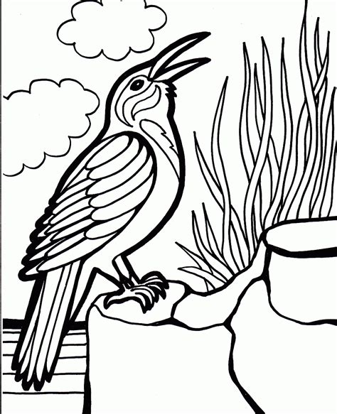realistic bird coloring pages with realistic bird coloring