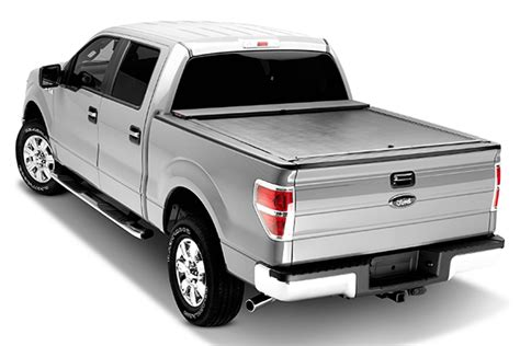 f 150 bed cover 2015 2018 f150 5 5ft bed roll n lock tonneau cover lg101m