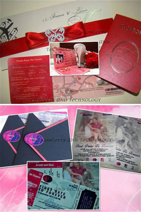 Wedding Concept Philippines by Concepts And Prints Metro Manila Wedding Invitations
