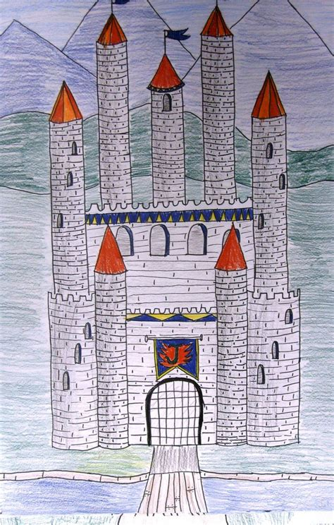 drawing castles dss uses templates fourth grade