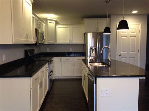 white shaker cabinets with quartz countertops kitchen with white shaker cabinets black quartz