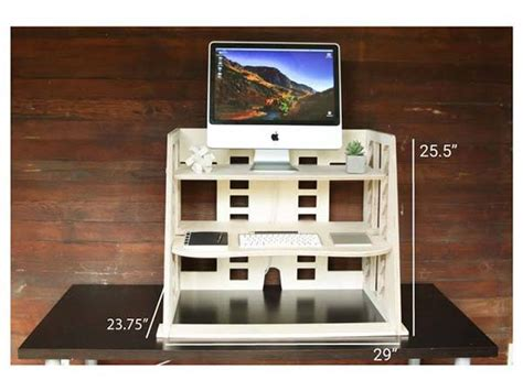 perch sit to stand desk perch wooden sit to stand desk provides you a and