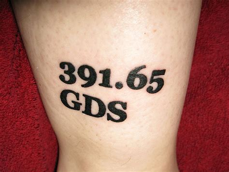 tattoo numbers 391 65 number tattoos 2016