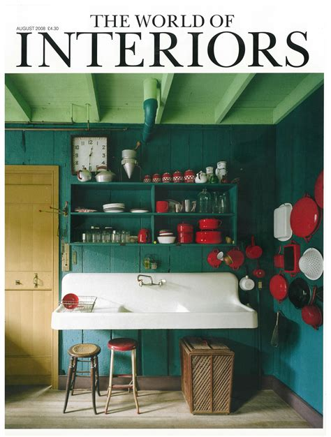 world  interiors august  article