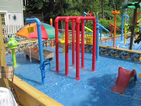 backyard splash park 25 best backyard water parks ideas on pinterest