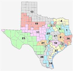 35th congressional district map congressional districts san antonio el