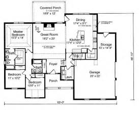 3 bedroom floor plans with garage 1792 square 3 bedrooms 2 batrooms 2 parking space on 1 levels house plan 592 all