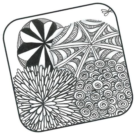 zentangle pattern fracas 1000 images about zentangle things on pinterest