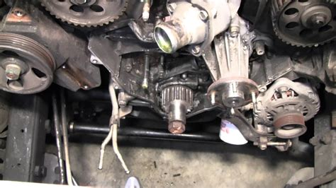 service manual remove a tensioner for a 2000 nissan xterra 1998 2004 nissan frontier