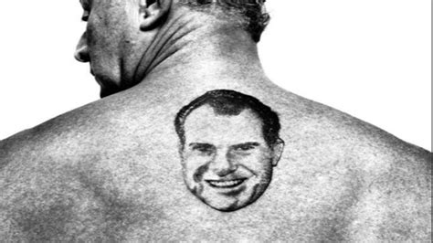 roger stone nixon tattoo roger oozing the sleaze part i page 1