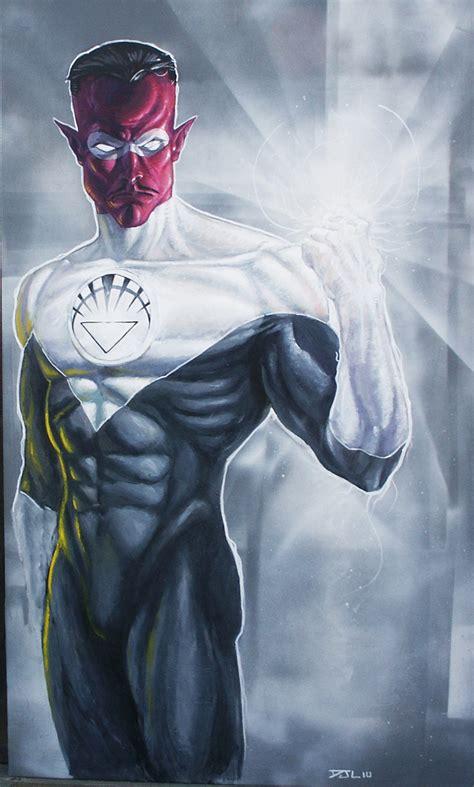 Dc Blackest White Lantern Sinestro Bust sinestro white lantern by djlogan on deviantart