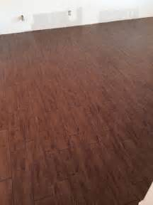 wood look alike tile happy customer wood plank pinterest